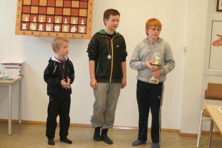 Skólaskákmót Ak. Yngri flokkur 2011