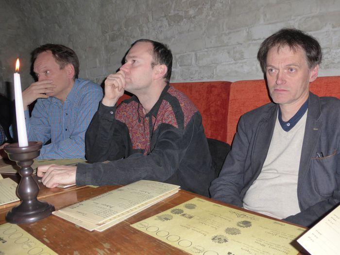 Henrik, Hannes og Helgi
