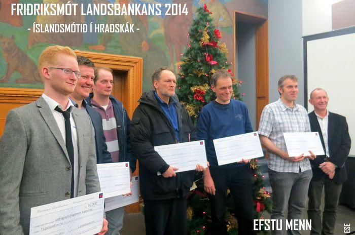 EFSTU MENN OG þorsteinn þorsteinsson útibússtjóri LI 13.12.2014 16 56 10