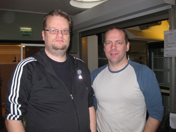 Gamlir vinir á Västerås Open; Sverrir Þór og Þorvarður Ólafsson