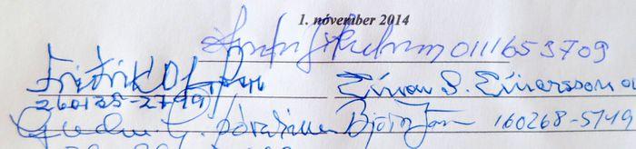 Undirritun stofnskrár Skáksögufélagsins 2.11.2014 12 42 023 2.11.2014 12...