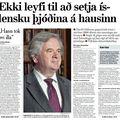 Moggi 090705 Davíð Oddsson forsíða