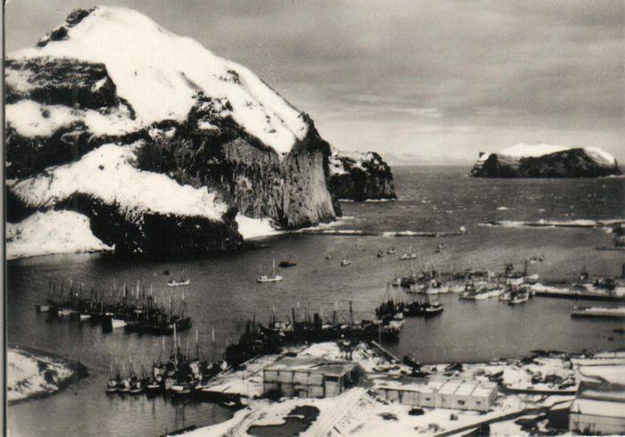 Vestmannaeyjahöfn 1948