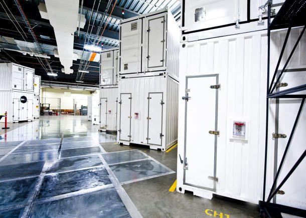 Container data center