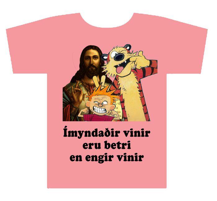 Ímyndaðir vinir eru góðir vinir