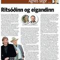 Moggi 090927 Agnes Ritsóðinn og eigandinn
