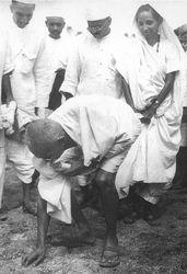 Gandhi og saltið