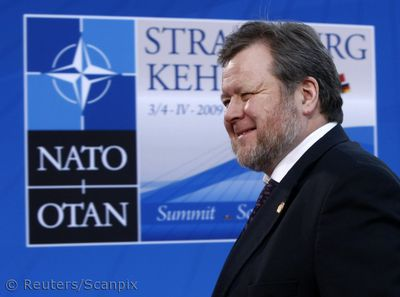 Terrorist at NATO summit