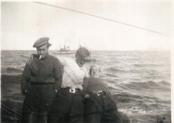 Pétur, Hasteinn og Óskar