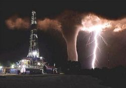 Oil-rig-and-tornado