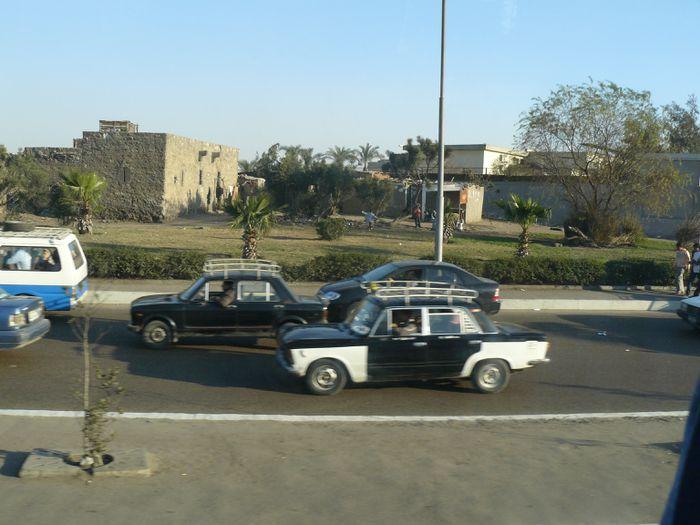 leigubílar í Kairó