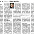 Fbl 090207 Sig Líndal Ráðherrar raska stjórnskipan