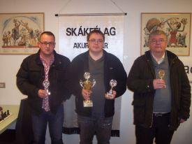 Smari Ólafsson, Sigurdur Arnarson og Sigurður Eiriksson.
