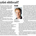Moggi 081127 Þröstur Helga Breytist eitthvað
