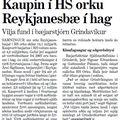 Kaupin í HS Orku Reykjanesbæ í hag