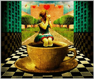 alice-in-wonderland-drinking-tea-in-the-royal-courtyard