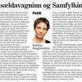 Moggi 090125 Kolbrún Bergþórs Vinsældavagninn og Samfylkingin
