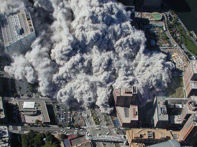 Gjóskuflóð frá World Trade Center