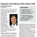 Moggi 081106 Gögnum ekki safnað Valtýr
