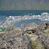 Isafjordur ad ofan