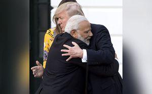 trump hug