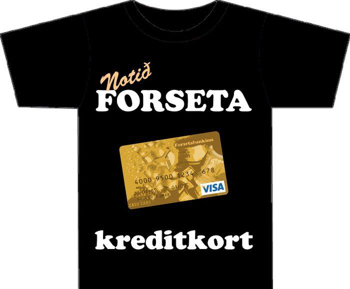 Forseta kreditkort