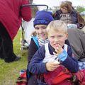 Benedikt og Erla mamma