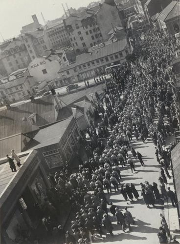 Nazi-march-Reykjavik-Iceland