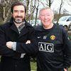 Cantona og Ferguson