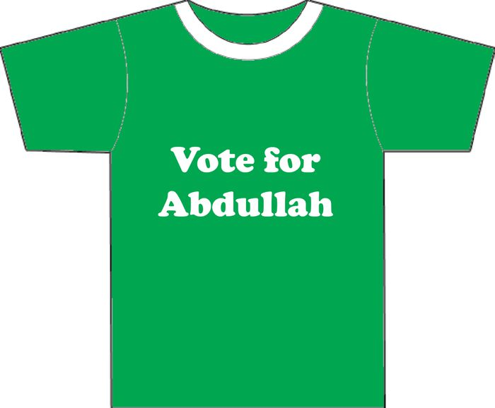Vote For Abdullah