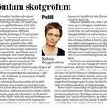 Moggi 090208 Kolbrún Bergþórs Í gömlum skotgröfum