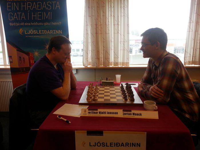 Einar Hjalti og Kjartan Maack