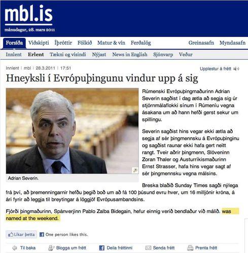 MBL endursegir EUbusinessFRETT