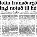 Fbl 090317 Stolin trúnaðargögn Sig Einars