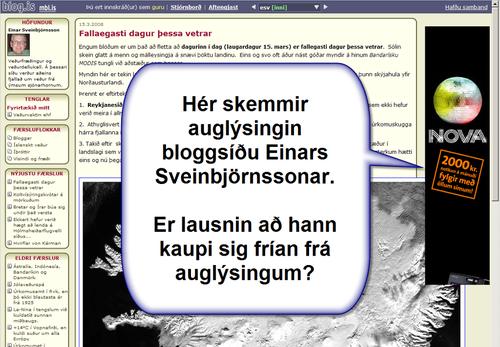 EinarOgAuglýsingin