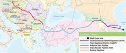 Azerbaijan-Shah-Deniz-pipeline-options-map