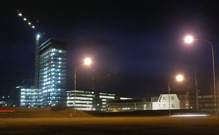 Höfðatorg kvöld