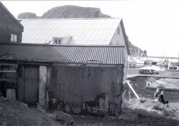 Jóna í Sjónarhól og Maggi Krumm á Spjalli niður við Edinborg