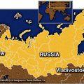 Kort af Rússlandi