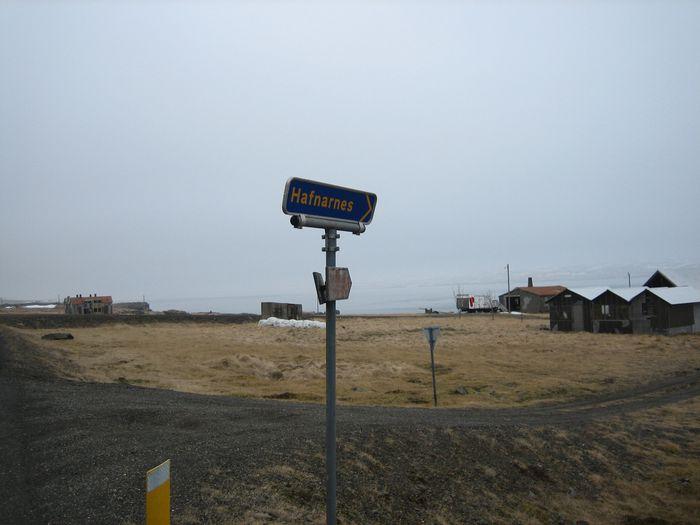 Séð heim að Hafnarnesi