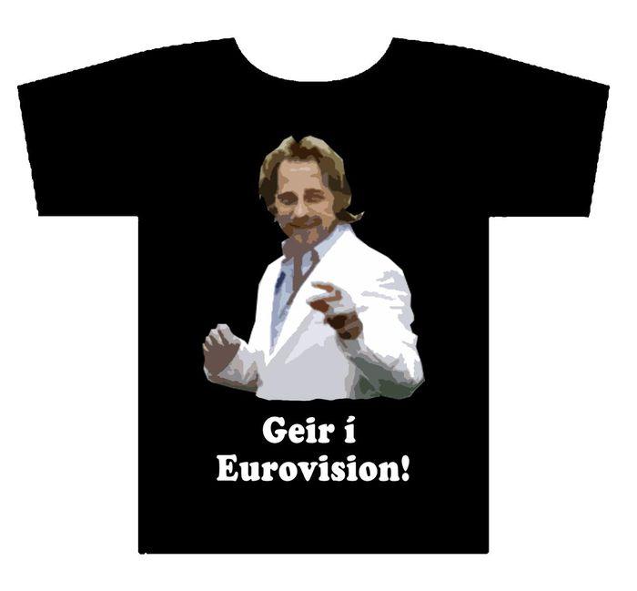 Geir Ólafs í Eurovision!