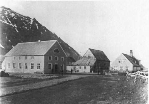 Hæstikaupstaður ca 1890