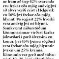 24 080718 Fleiri móti stóriðju