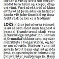 Fbl 090912 Bakþankar DavíðÞór Ingólfstorg Kjörkassinn