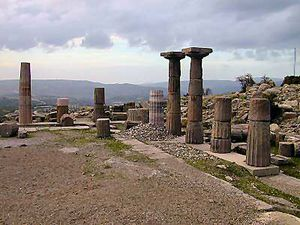 Assos_Temple_of_Athena,_andesite