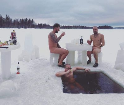 Finnish Pool Party