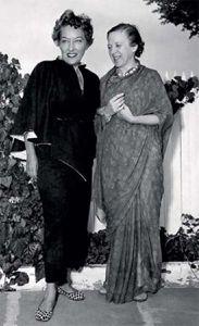 Indra devi og Gloria Swanson