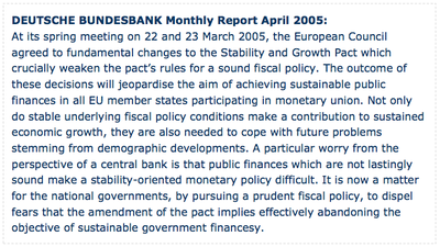 DEUTSCHE BUNDESBANK Monthly Report April 2005