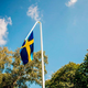 svensk flagga trasig