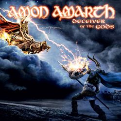 Þungarokksumslag Amon-Amarth-Deciever-of-the-Gods